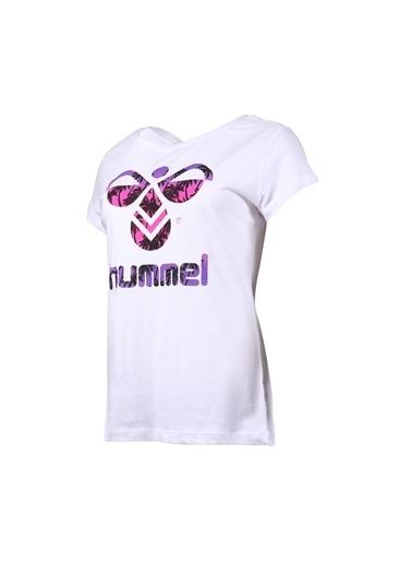 Hummel Hummel 9102449001 Trıana Kısa Kollu Tışört Beyaz